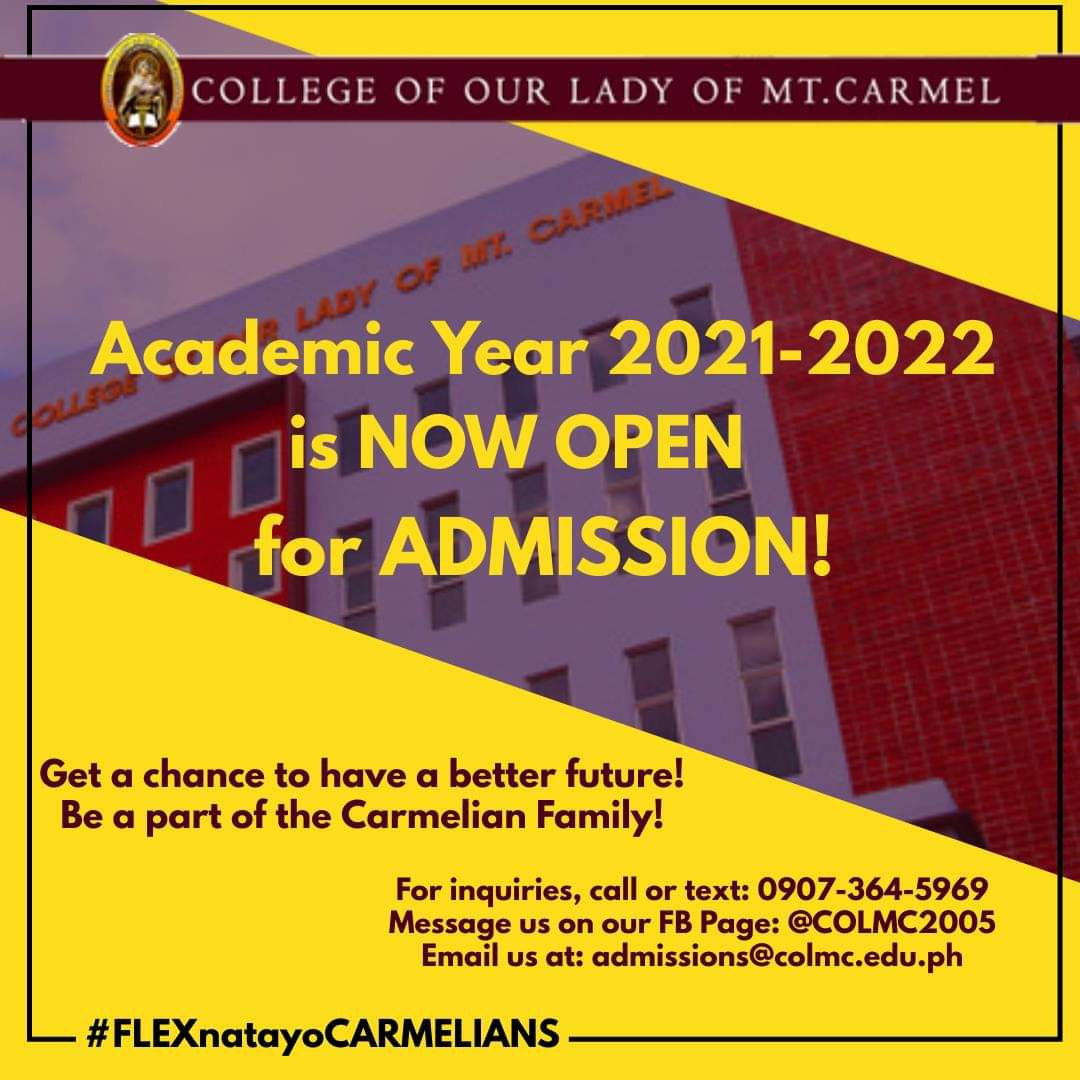ADMISSION FOR ACADEMIC YEAR 2021-2022
