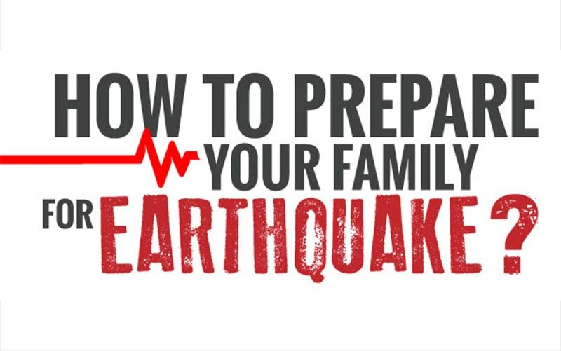 EARTHQUAKE PREPAREDNESS TIPS FROM THE COLLEGE OF OUR LADY OF MT. CARMEL.